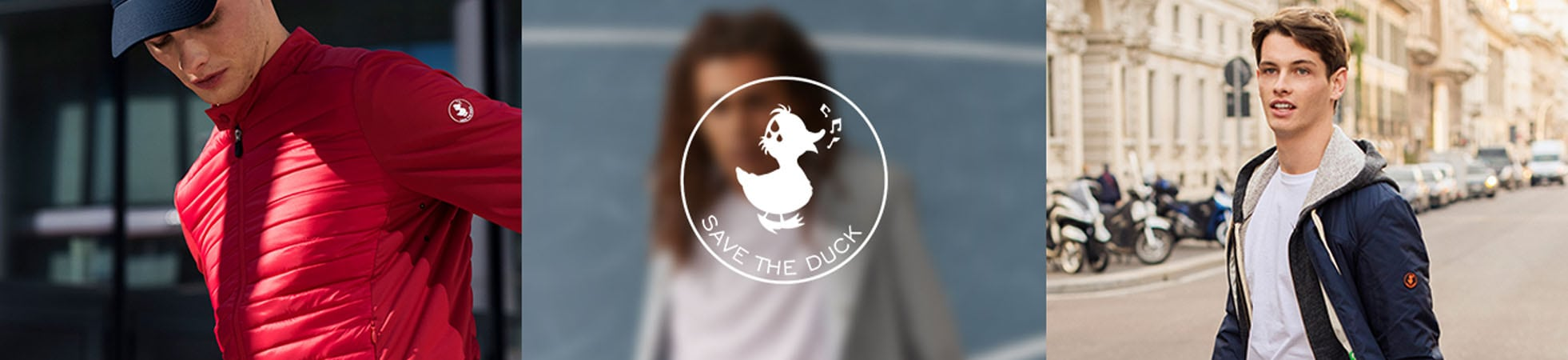 Groen Save the Duck herenkleding