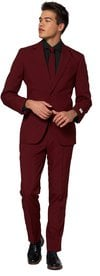OppoSuits Blazing Burgundy Suit