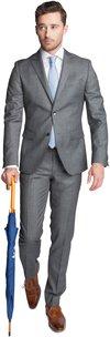 Suitable Anzug Spello Grau
