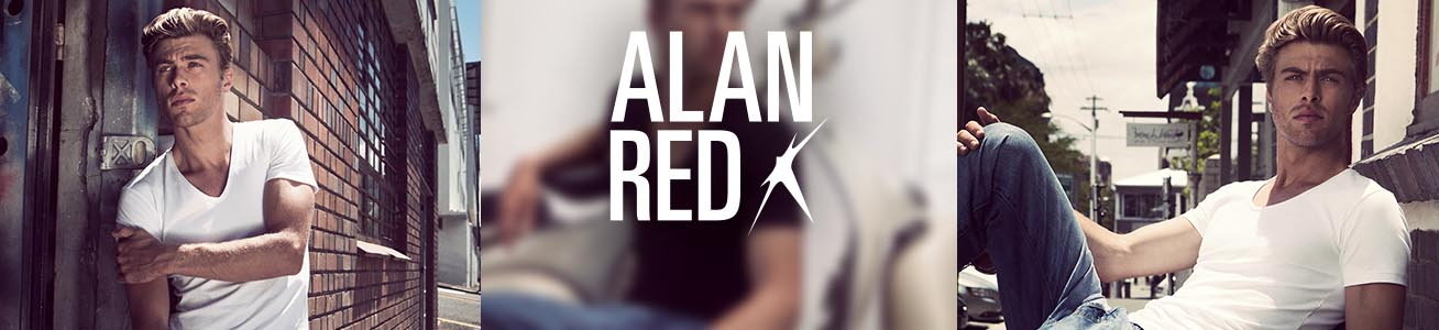 Alan Red Basics für Herren