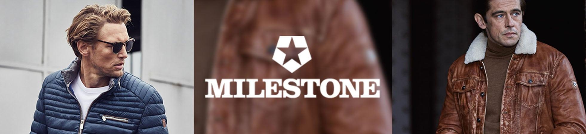 Milestone Herrenjacke