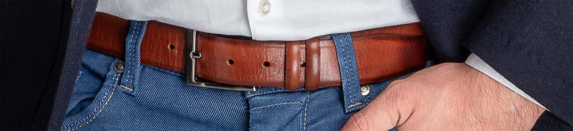 Stretchable and Braided Men's Belts